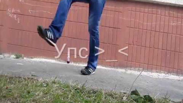 Русский JumpStyle - движения  Half-Twist; Wheel; Hurricane.