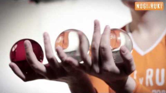 Контактное жонглирование. Фристайл.