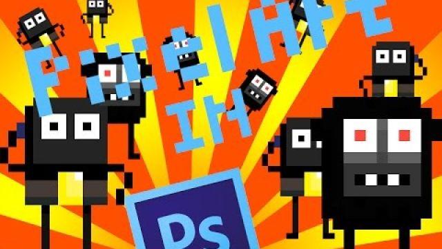 Pixel ART урок в фотошопе